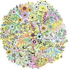 My Secret Garden Coloring Book As Amazing Finished Secret Garden