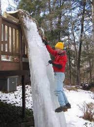 having an ice wall attached to your deck less
