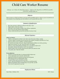 Child Care Resume 100 Resumes For Child Care Mla Cover Page 44
