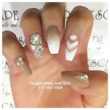 Coffin Designs Coffin Ombrac Nails Cute Nails Designs Pinterest Coffin Nails