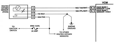 35 ford f150 bank 1 sensor 1 location re7m ozdere info Three Wire O2 Sensor Wiring at Oxygen Sensor Wiring Diagram Ford