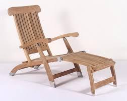 teak steamer chair teak folding deck chair