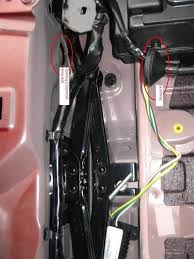 cx 9 hidden hitch install mazda oem wiring harness pictures remove 2 plastic push nuts in the bottom of the storage tray and the whole tray comes out