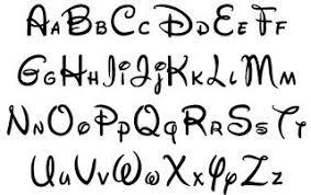 Disney Font Alphabet Letters Lettering Lettere Disney Scrittura