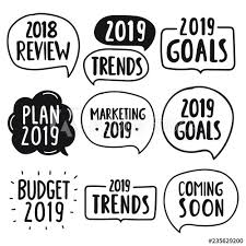 2018 Review 2019 Goals Marketing Budget Plan Trends Coming