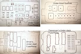 2002 acura mdx fuse box 2002 wiring diagrams