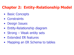 Er Design Issues Chapter 2