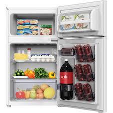 tiny refrigerator office. Avanti RA31B0W 3.1 CF 2-door Compact Refrigerator AVARA31B0W Tiny Refrigerator Office