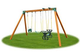 classic kids cedar swing set diy kit