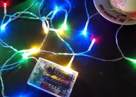 Decorative string lighting Shaped 3aa Battery Operated Decorative String Lights 20 F5 Mini Led Bulbs Meters Long Walkerton Hawks 3aa Battery Operated Decorative String Lights 20 F5 Mini Led Bulbs