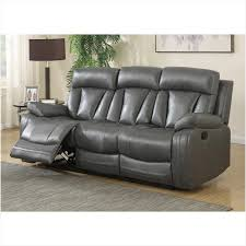 grey leather reclining sofa the best option reclining sofa reclining loveseat with center console rooms to go