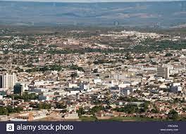 Top view of the city of Juazeiro do Norte in Ceara Stock Photo - Alamy