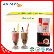 wan hala boba bubble tea powder nutrition facts instant milk tea coconut powder drink recipes