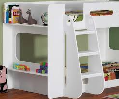 white shortie bunk bed short white bunk bed with shelves