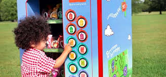 Child In Vending Machine Enchanting Organic Toddler Snack Dispensers Ella's Kitchen Vending Machine