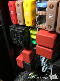 jeep renegade rear cargo outlet constant 12v power write up reinstall the fuse box panel by sliding it back into place