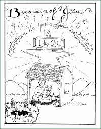 Christmas Nativity Scene Coloring Pages Awesome Free Printable