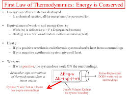 6 first law of thermodynamics