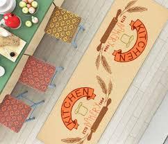 Non Slip Rugs For Kitchen Kitchen Classics Bakery Beige Modern Mat Non Slip Machine