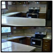 vanity resurface in high gloss fieldstone kitchten counter resurface