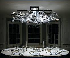 fiber optic chandelier for