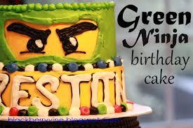 The Blackberry Vine: Lego Ninjago Birthday Cake