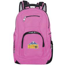 office supplies denver. Denver Nuggets Pink Backpack Laptop Office Supplies