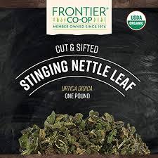 Frontier Co-op Nettle, Stinging Leaf, <b>Cut &</b> Sifted, <b>Certified Organic</b> ...
