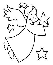 Small Picture Angel Coloring Pages For Preschool Pages nebulosabarcom