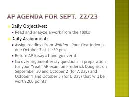 daily objectives  and analyze a work from the s  1  daily