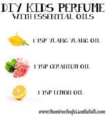 diy essential oil perfume for kids