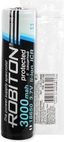 <b>Li18650</b>/3000, <b>Аккумулятор</b> Li-ion, <b>3000mAh</b>, 3.7V, с защитой ...