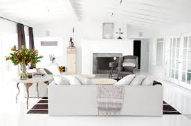 Interior Design White Living Room Belgian Born Interior Designer Natascha Folens And Her Husband