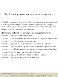 Nursing Home Manager Resume Top224nursinghomemanagerresumesamples22450522470242924224lva224app62249224thumbnail24jpgcb=22424322422437036 17