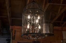 foucault s orb clear crystal chandelier home