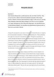 major essay assignment arts international law power major essay assignment