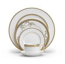 vera wang dinnerware. Contemporary Dinnerware Vera Wang Wedgwood Lace Gold 5Piece Dinnerware Place Setting In Amazoncom