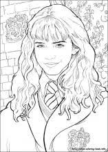 Small Picture Harry Potter coloring pages on Coloring Bookinfo