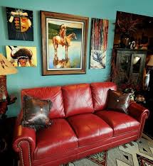 red sofa living room red leather sofa