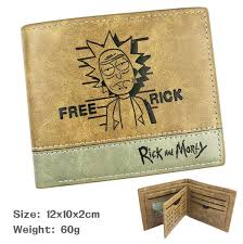 Cartoon Rick and Morty <b>PU Leather Wallet</b> As Gifts | Wish
