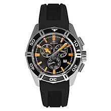 rotary watches ernest jones rotary pacific men s stainless steel black strap watch product number 3823873