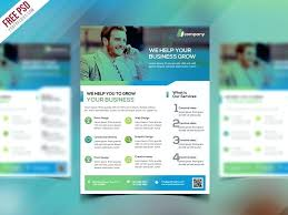 Business Flyer Template Free Download Business Poster Template Psd Free Download