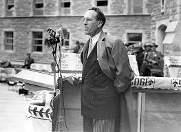 canadian personalities tommy douglas tommy douglas at opening of the university of saskatchewan hospital 1955