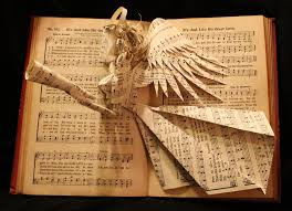 old hymn books every sunday since then people have been sponsoring a hymn in our main 10am service hymns have been sponsored in memory of loved ones
