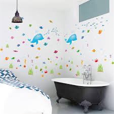 Wall Sticker Bathroom Compare Prices On Dolphin Wall Decals Online Shopping Buy Low