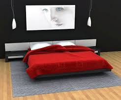 ideas to decorate your bedroom with red