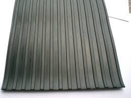 corrugated rubber sheet