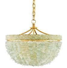 sea glass chandelier lighting beach glass chandelier lighting