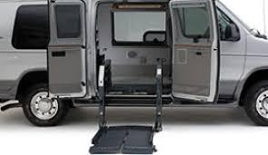 wheelchair lift for van. VMI Slide-Away Wheelchair Lift For Van L