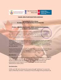 canada india trade round table conference